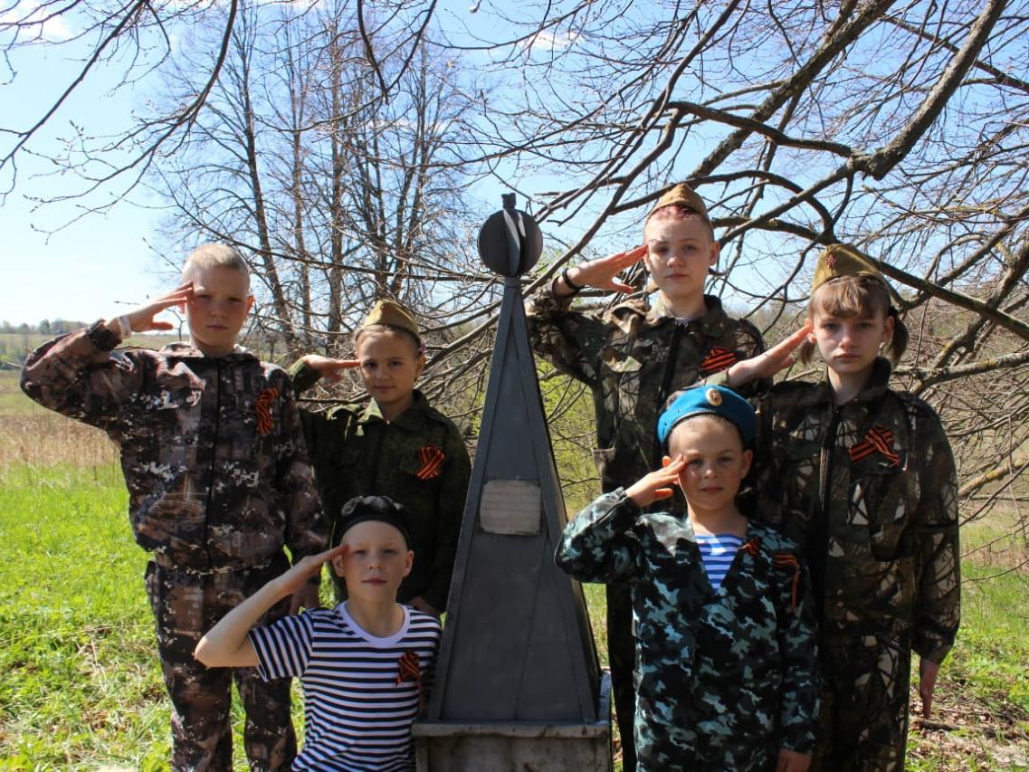 Участники «Семейного очага» отметили 75-ую годовщину Победы